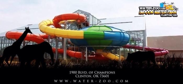2. Water-Zoo Indoor Water Park-Clinton