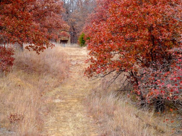 4.) Creek Loop Trail-Osage Hills State Park: Pawhuska, OK