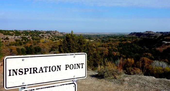 10.) Roman Nose Trail-Roman Nose State Park:  Watonga, OK