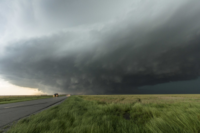 """3.) """"Twister""""- Not the game you play with your kids, but a real twister...as in take cover!"""