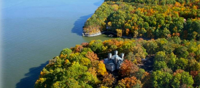 1.) Jay Castle- Jay, OK:  This private waterfront castle is situated on 12 acres and can be rented for a whopping $4,300 week.