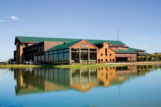 3.) Broken Arrow-Largest suburb of Tulsa. Great place to raise a family.  Affordable new housing. Low crime. Bass Pro Shop.