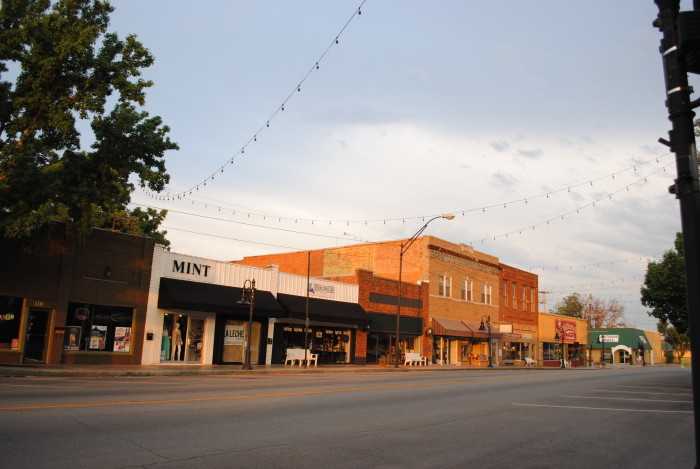 5.)  Jenks- Top-rated schools. Affordable new home prices. Antique shopping. Oklahoma Aquarium. New River Development.