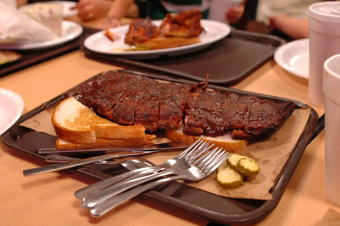 "2.) Food- You will find delicious food all over the state...especially some mouth-watering barbecue. As some say, ""U Need No Teeth to Eat Our Beef!"""
