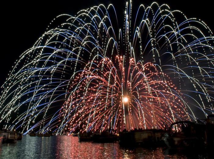 7. Fireworks in Okoboji