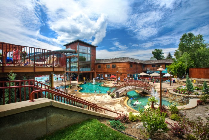10.) Old Town Hot Springs (Steamboat Springs)