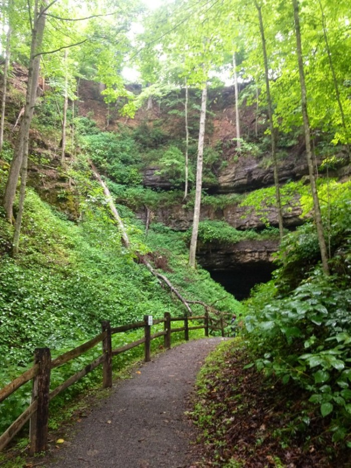 5. Organ Cave in Greenbrier County