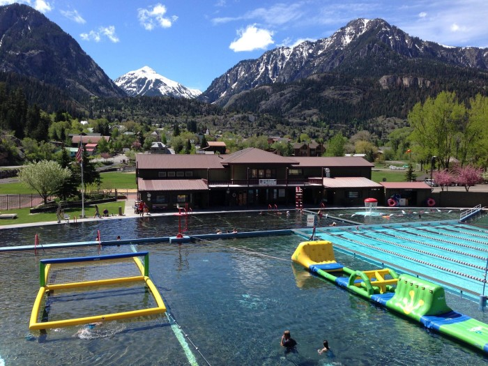 11.) Ouray Hot Springs (Ouray)