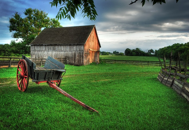 3. Garfield Farm (near Geneva) served as a stop for travelers crossing the Illinois prairie in the 1800s