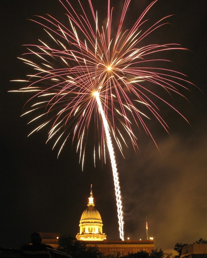 5. Capital City Celebration  (Springfield). If you're in the state's capital, make sure you catch this great show.