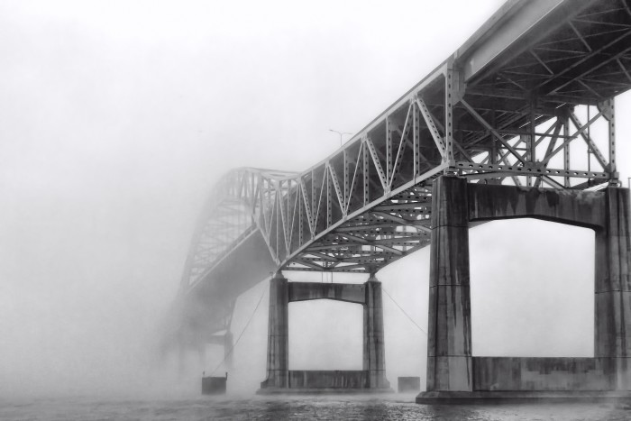 5. This bridge continues into the clouds