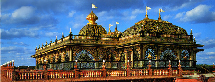 1. Palace of Gold in New Vrindaban