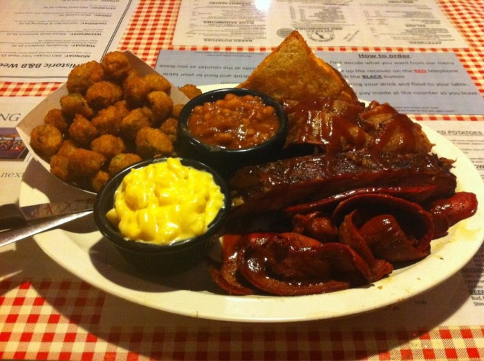 22. Penguin Ed's BBQ: This Northwest Arkansas barbecue favorite has been in operation since 1993 and has expanded operations to four locations across Fayetteville.
