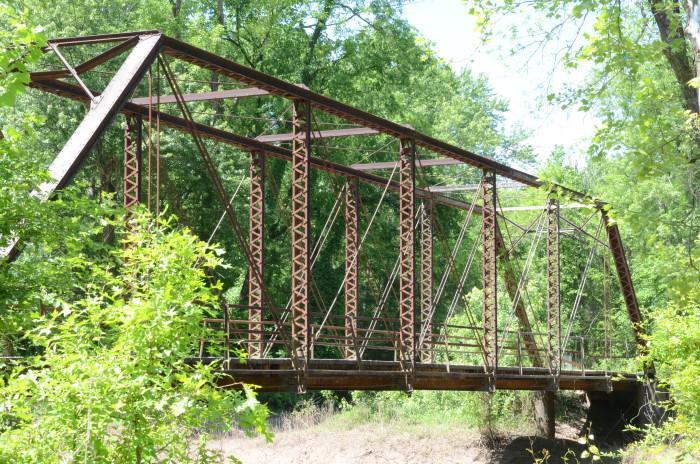 10. Petit Jean River Bridge: Built in 1961, this is a steel stringer bridge over Petit Jean River.