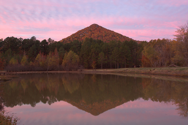 2. Pinnacle Mountain: Picnicking is popular with families and school groups at this beloved state park located just outside of Little Rock in the foothills of the Ouachita Mountains.