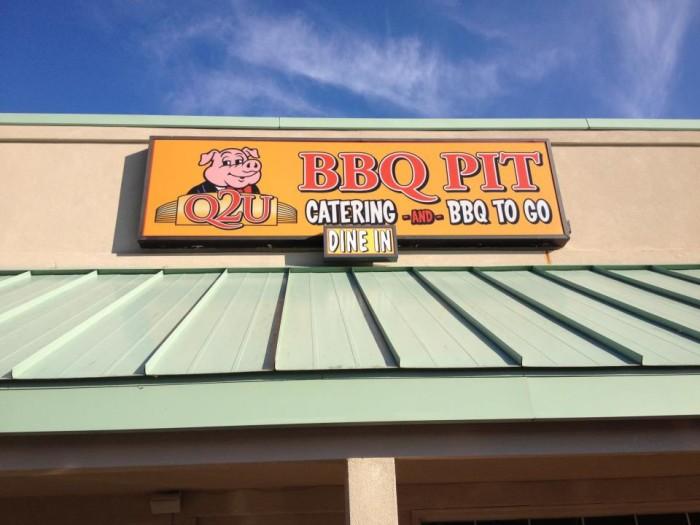 12. Q2U BBQ Pit, Lake Wylie, SC