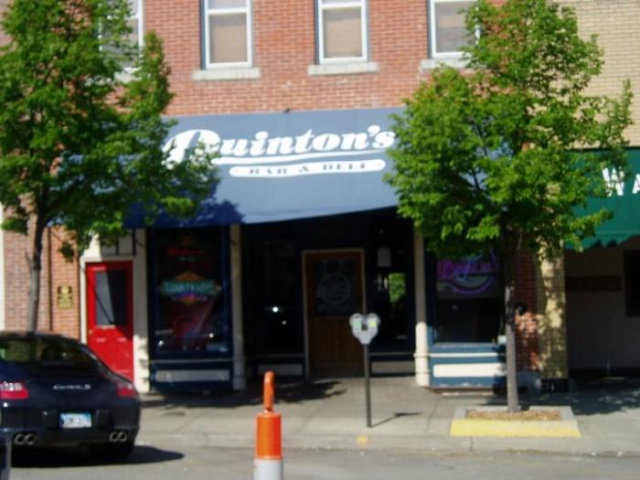 8.) Quinton's Bar & Deli (Lawrence)
