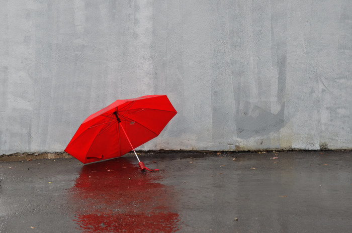 """4. """"You must go through a lot of umbrellas, from it raining all the time."""""""