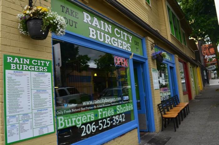14. Rain City Burgers - Seattle - Ravenna neighborhood