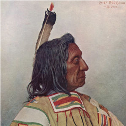 Red Cloud, Oglala Lakota Tribe Chief and Native American Activist, Born in What is Now Nebraska in 1822