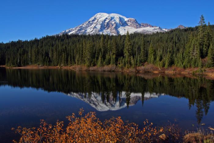 15. Reflection Lake - Mt. Rainier National Park