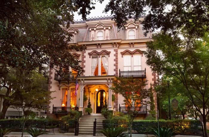 2) The Hamilton -Turner Inn- 330 Abercorn Street , Savannah, GA 31401