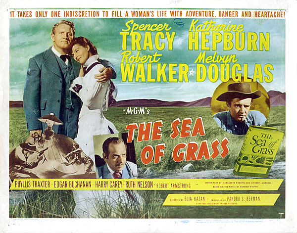 The Sea of Grass, 1947 - Filmed Partially in Wood Lake