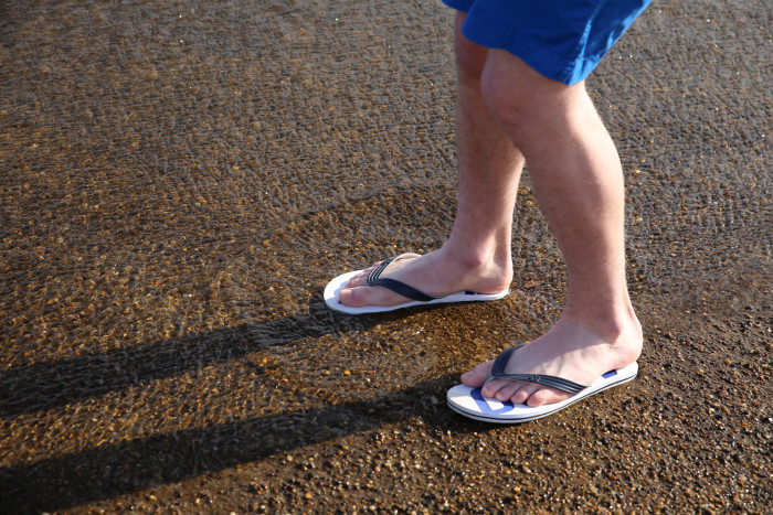 8. They're wearing shorts & flip-flops in 60 degree weather because let's face it...there's a heat wave going on.