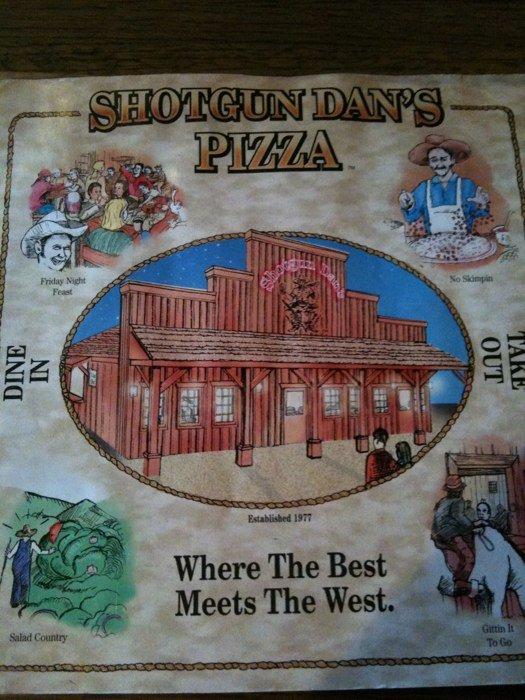 10. Shotgun Dan's Pizza