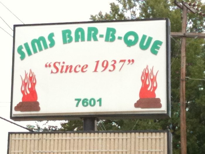 2. Sims BBQ: The original in southwest Little Rock serves excellent spare ribs, sandwiches, beef, half and whole chicken, and an addictive vinegar-mustard-brown sugar sauce unique to the Natural State.