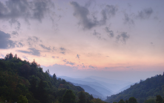 8) The Great Smoky Mountains