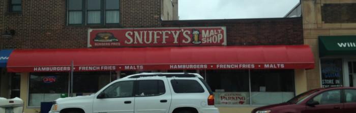 4. Snuffy's Malt Shop is a classic.