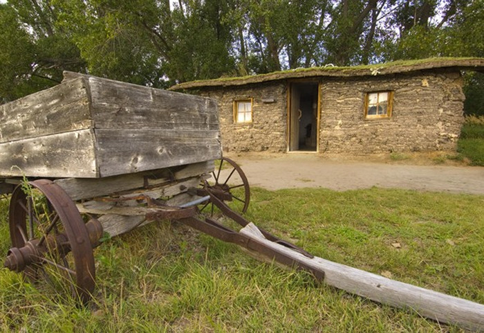 Bowring Ranch Sod House, Merriman