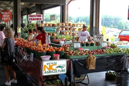 6. Spend a day at the farmers market.