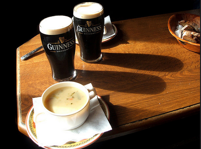 Bars Can't Sell Beer Unless They Are Also Brewing a Pot of Soup