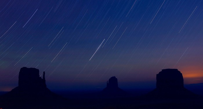 20. Monument Valley at Night