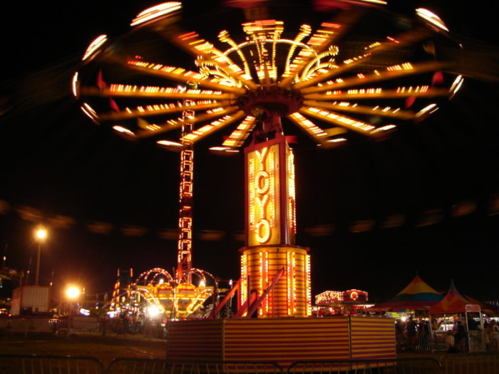 6. Go to the State Fair of West Virginia.