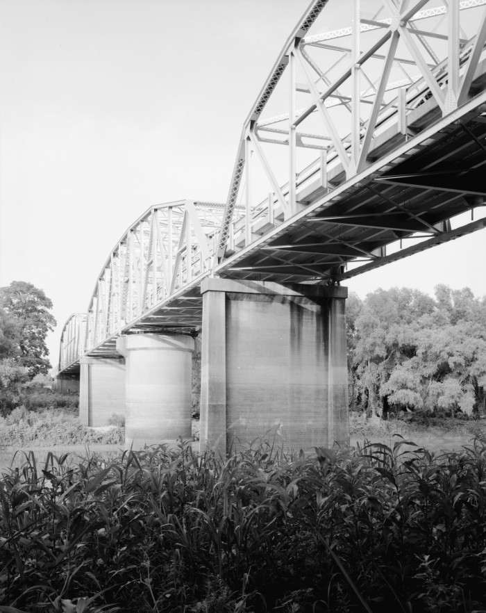 2. St. Francis River Bridge: This bridge carries United States Route 70 over the St. Francis River near Madison in St. Francis County, Arkansas.