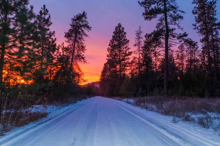 Eastern Washington is full of magical scenery like this!