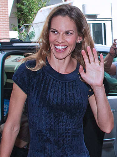 Academy Award-Winning Actress Hilary Swank, Born in Lincoln in 1974