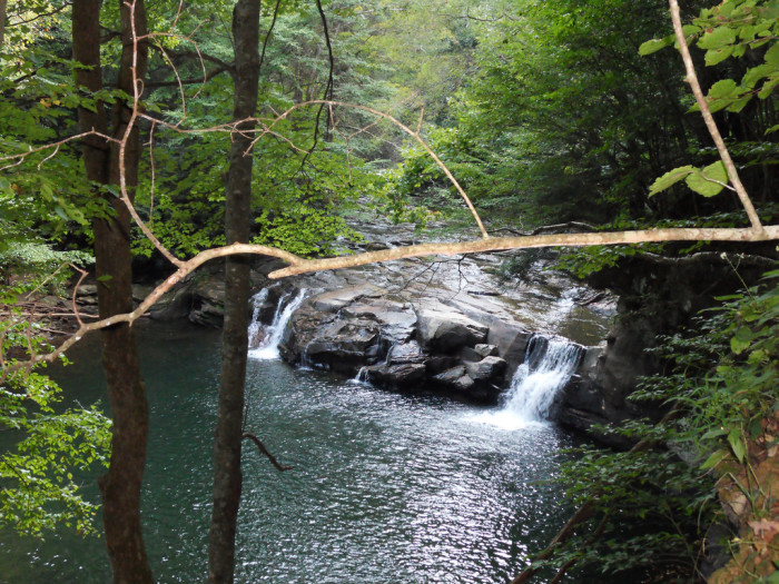 8. Or take a dip in one of our many swimming holes.