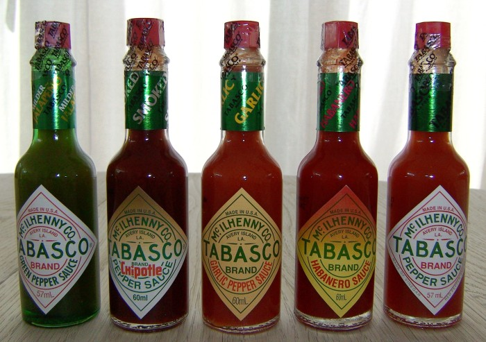 7) One of the earliest patents in Louisiana was Tabasco Sauce, patented by Edmund McIlhenny in 1870.
