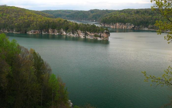 7. Take a swim in Summersville Lake.