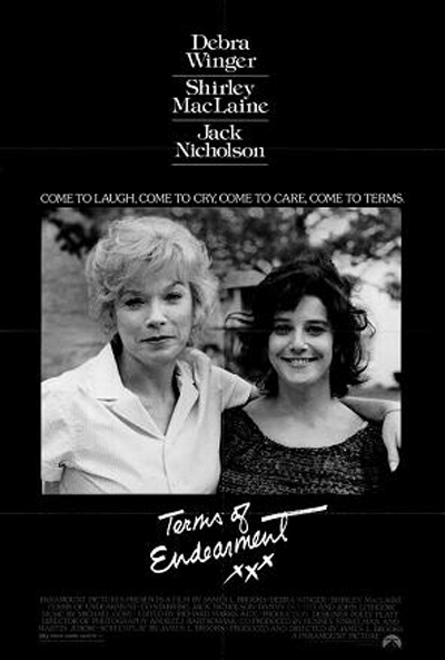 Terms of Endearment, 1983 - Filmed Partially in Kearney and Lincoln