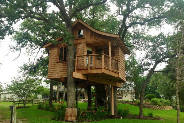 5 treehouse at davis ranch retreat waelder