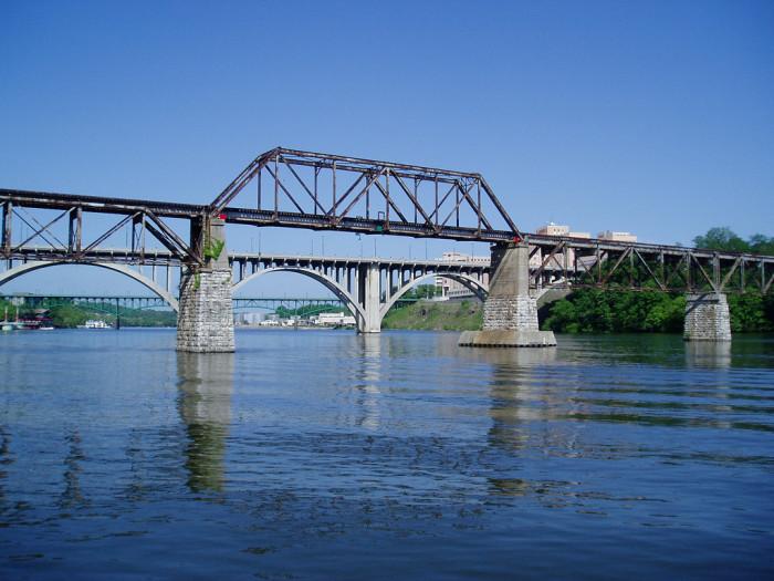 2) A trestle bridge fit for your dreams.