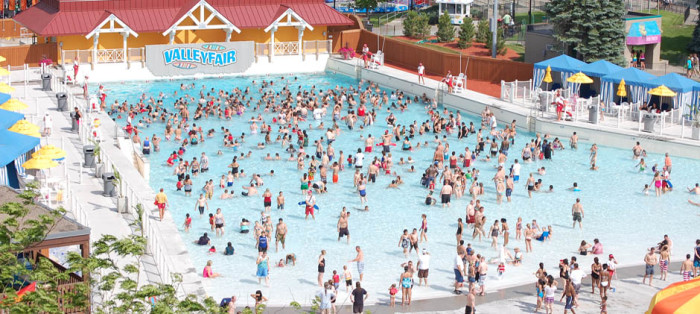 1 Soak City Waterpark at Valleyfair. Classic amusement park you'll find plenty of slides, rides, and a great wave pool!