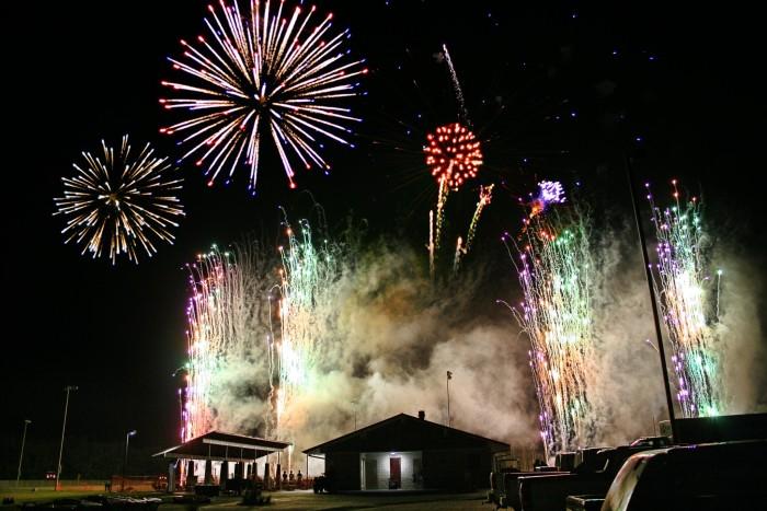 14.) Wamego Fireworks Show