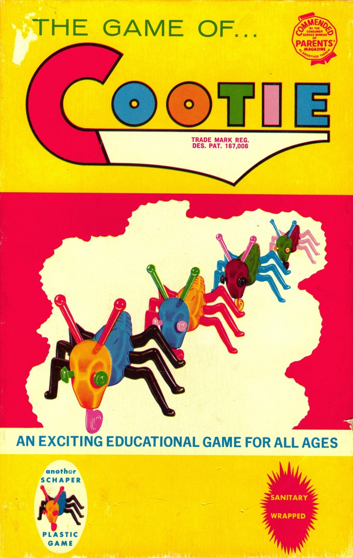 14 The game of Cootie! Who remembers this one?