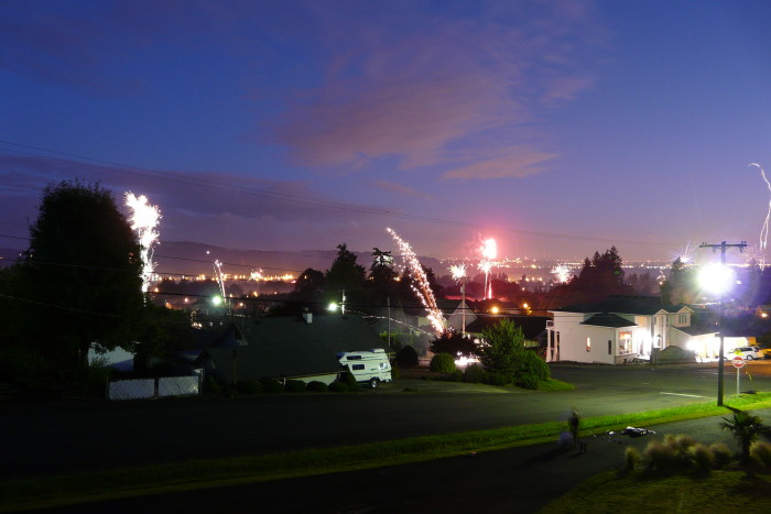 7. Washougal, 4th of July Fireworks